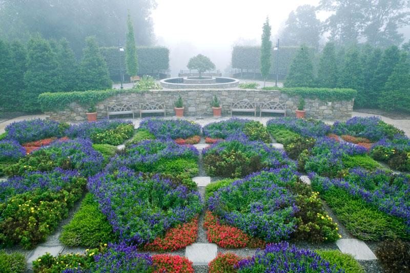 Ordinaire Quilt Garden, North Carolina Arboretun, Asheville, NC, USA