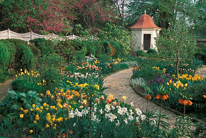 Upper Garden, Mount Vernon, Virginia, USA